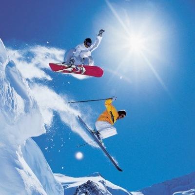 skier-snowborder